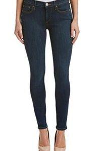 True Religion Halle Skinny Jeans Blue Dark Wash 26